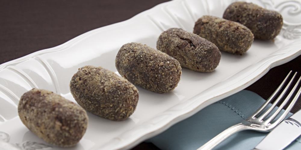 Croquetes de feijão azuki