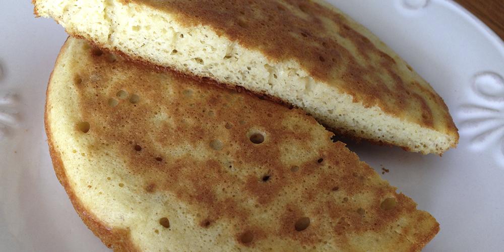 Pão de frigideira com aveia