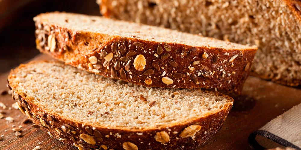 Pão com farinha de linhaça